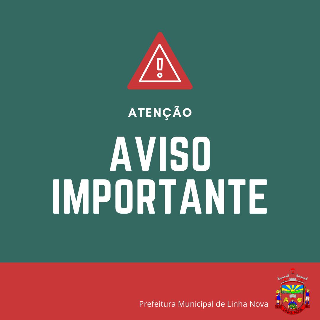 ATENÇÃO COMUNIDADE DE RINCÃO DA SERRA E LOCALIDADES PRÓXIMAS