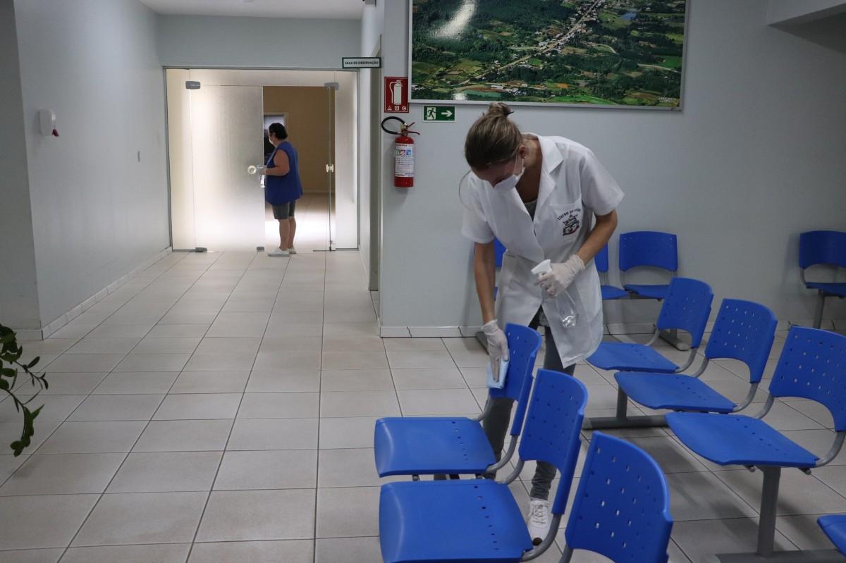Centro de Saúde altera a rotina para prevenir contágio do Coronavírus