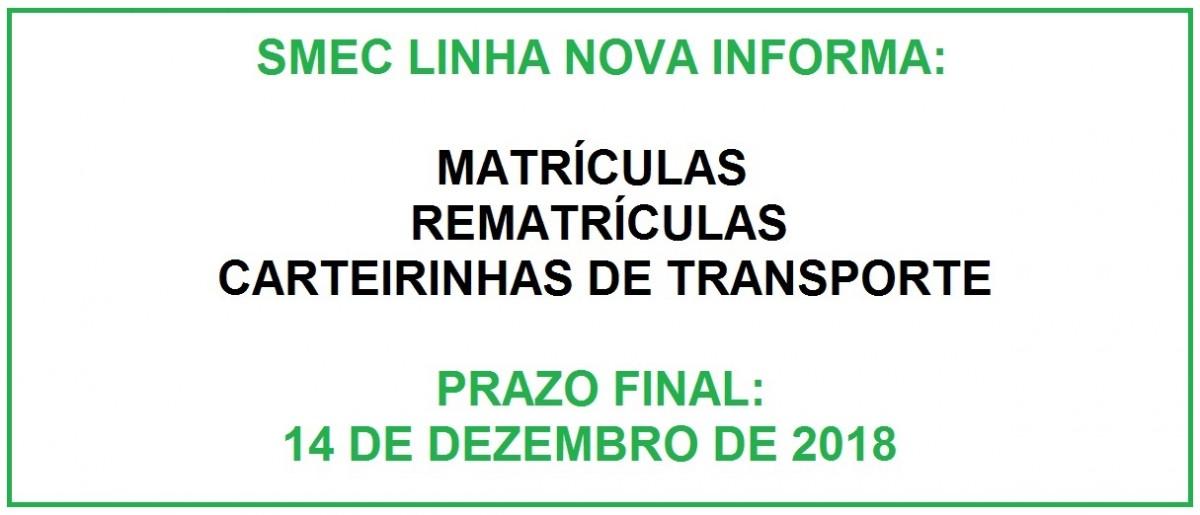 Crédito da Imagem: Divulgação SMEC