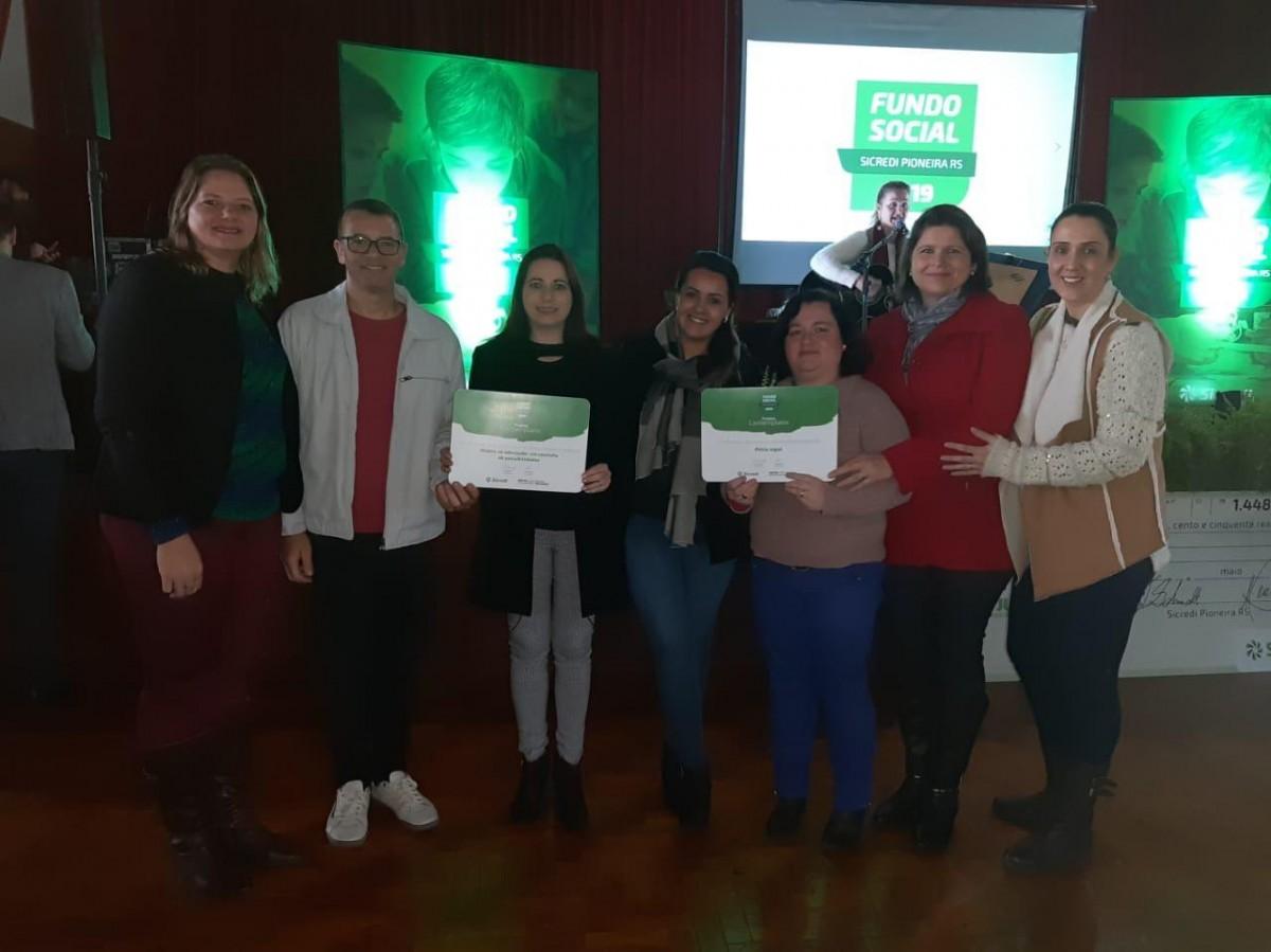 Escolas municipais recebem Fundo Social da Cooperativa Sicredi Pioneira