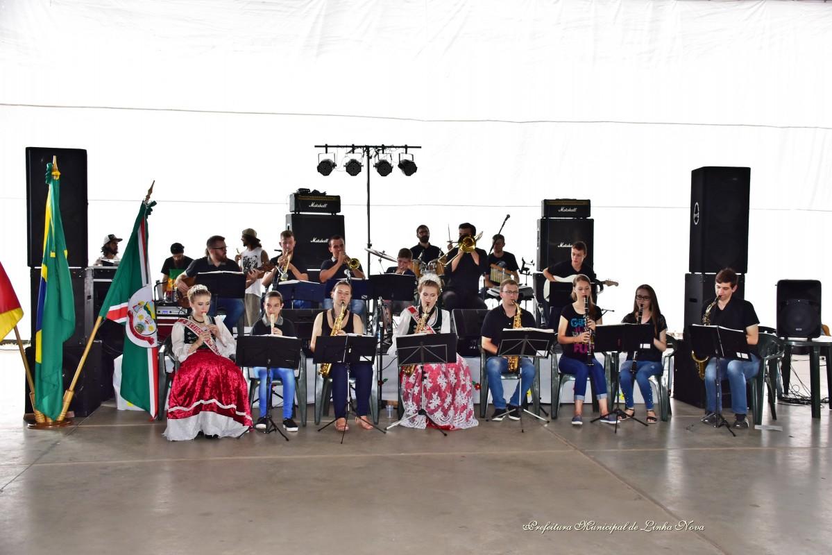 Orquestra Municipal de Linha Nova - Créditos das fotos: Divulgação PMLN