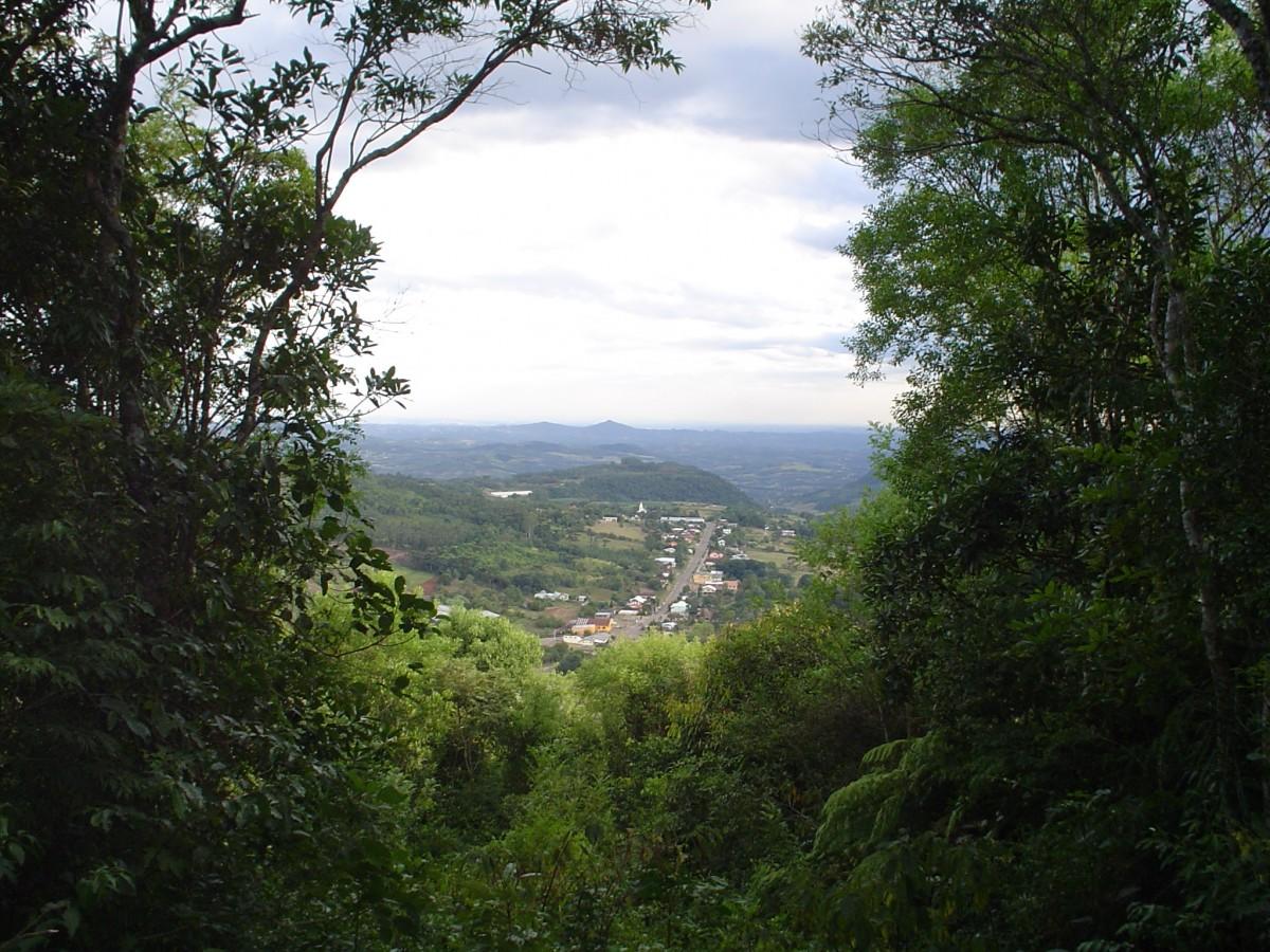 Vista de Linha Nova a partir do Morro do Mirante