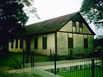 Casas antigas no Centro