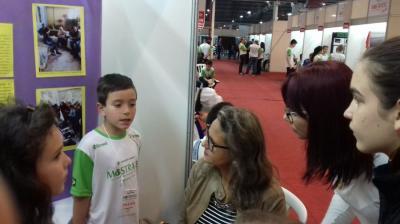 Linha Nova marca presença na Mostratec Júnior