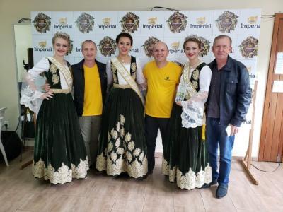 Prefeito e soberanas divulgam a 7ª Heimatfest