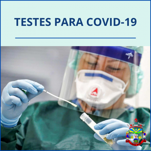 Aquisição de testes rápidos para Covid-19