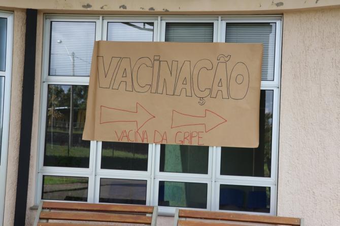 Campanha de vacinação contra a gripe começa nesta segunda-feira, 23/03