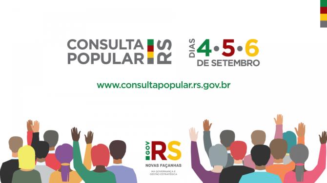 CONSULTA POPULAR 2019-20 OCORRE ESTA SEMANA.