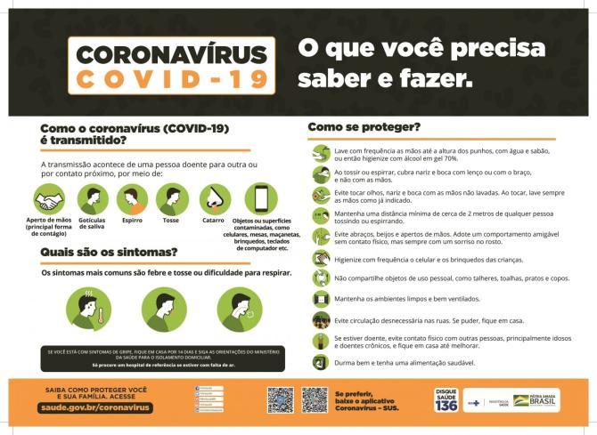 Coronavírus: Informe-se