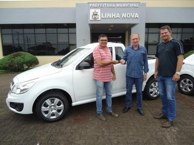 Prefeitura Municipal adquire veículo zero quilômetro para Secretaria de Obras