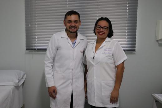 Linha Nova recebe novos profissionais de saúde