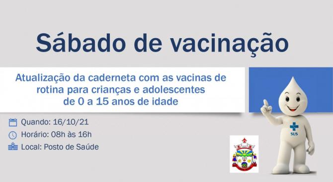 Sábado de Vacinação no Posto de Saúde