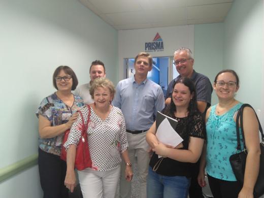 Secretaria de  Saúde participa de reunião em Igrejinha